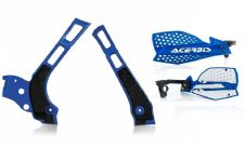 New Acerbis Frame Cover X-Grip YZ 125 250 06-18 X Ultimate HandGuards BLUE BLK